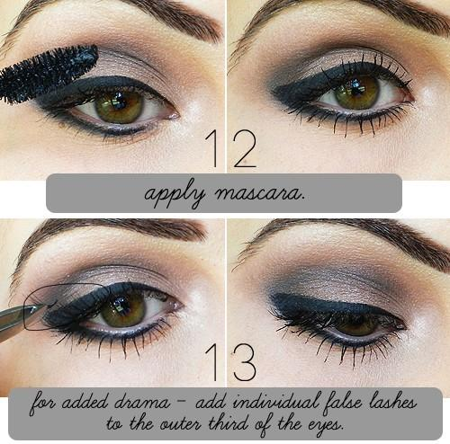 apply mascara - StyleCraze