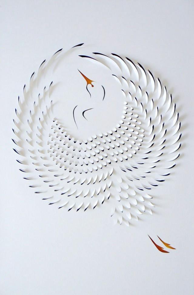 The Hand Cut Paper Art of Lisa Rodden | Colossal