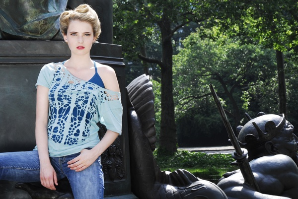 Diana Eng's laser cut t-shirts - Boing Boing