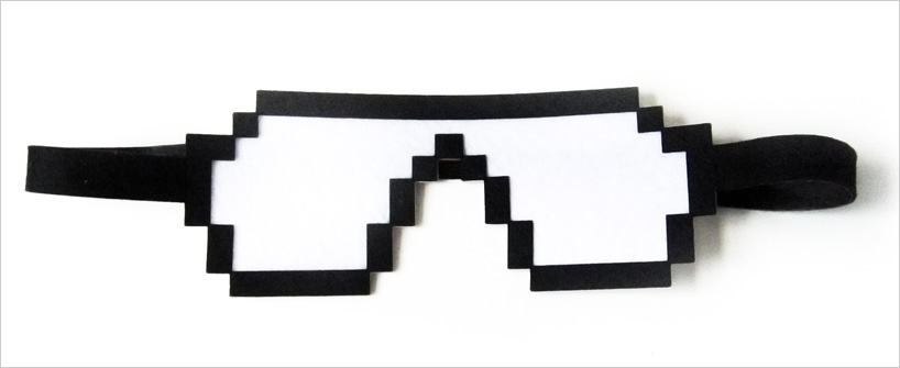 designboom shop: pixel sleeping eye mask by studiobo
