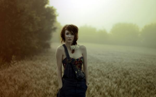 nature,women women nature redheads fields blurred 2560x1600 wallpaper – Fields Wallpapers – Free Desktop Wallpapers