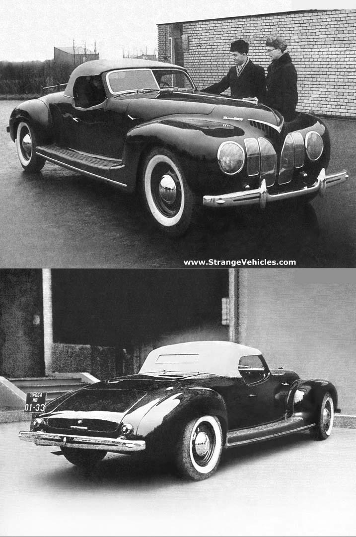 1939 RUSSIAN LIS 101A - CONCEPT CAR - NEVER MANUFACTURED