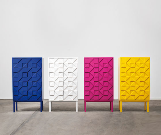 'Collect 2011' cabinet by A2 @ Dailytonic