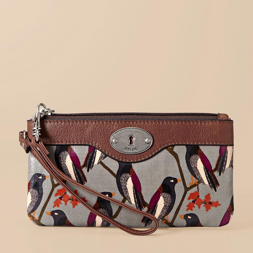 FOSSIL® Wallets Wristlet Wallets:Womens Key-Per Wristlet SL3068
