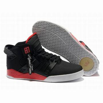 supra skytop iii black red white men skateboard shoes,supra skytop 3 sneakers for sale online