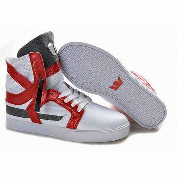 white red black supra skytop ii men sneakers online sale