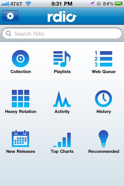Mobile UI Patterns | Dashboard Navigation
