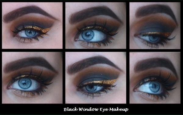 Black eye makeup tutorial - StyleCraze