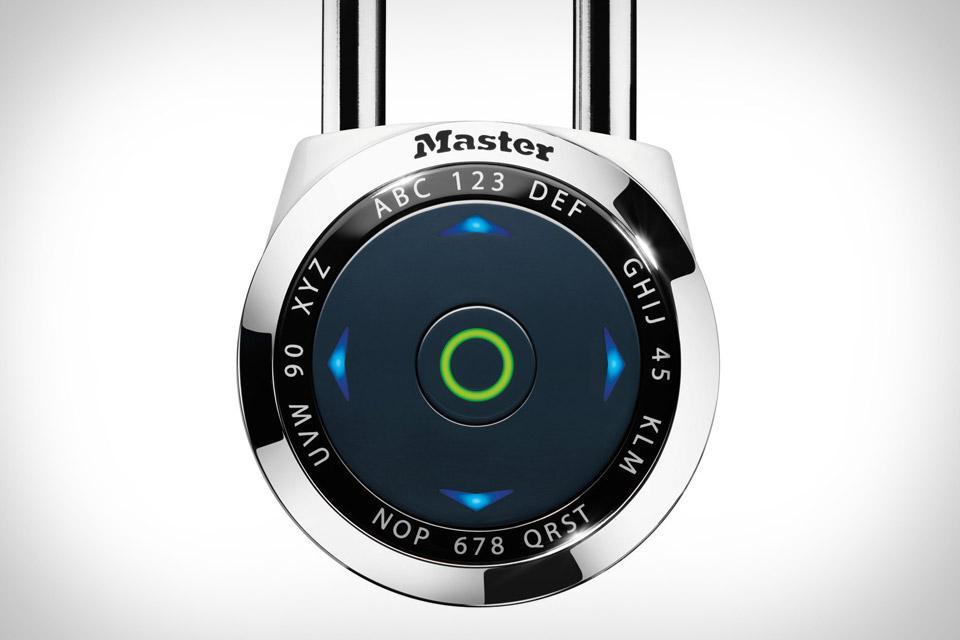 Master Lock DialSpeed Padlock | Uncrate