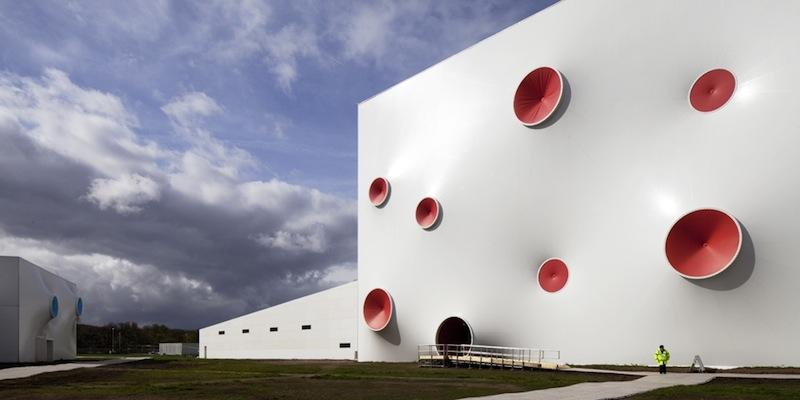 2012 London Olympic Shooting Sports Venue, designed by Magma Architecture | The Fox Is Black