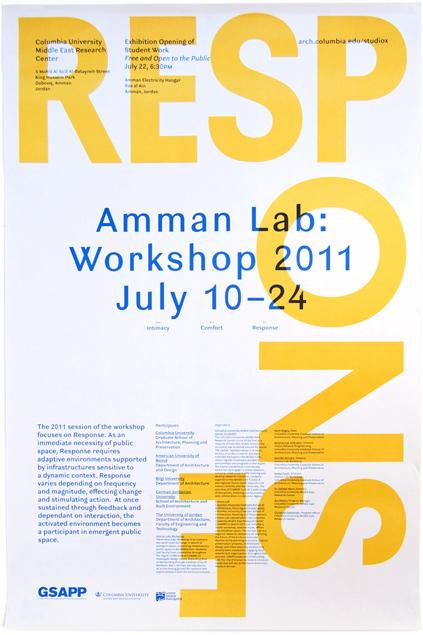Rumors – Studio X Amman Workshop 2011 Poster