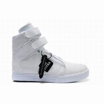 all white ladies supra society perf high,discount women supras tk online shop