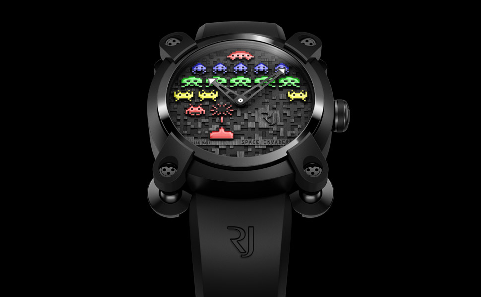 RJ Romain Jerome Space Invaders Watch | Uncrate