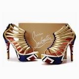 buy louboutin studded pumps from christian louboutin black flats clearance store