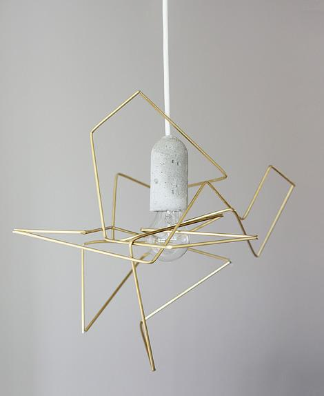 DIY geometric lamp | iainclaridge.net