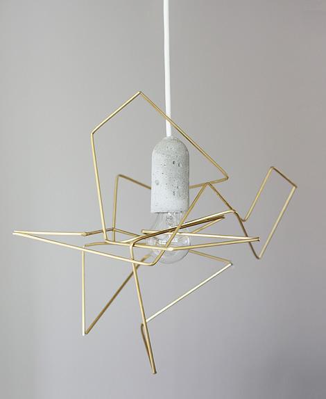 DIY geometric lamp | iainclaridge.net
