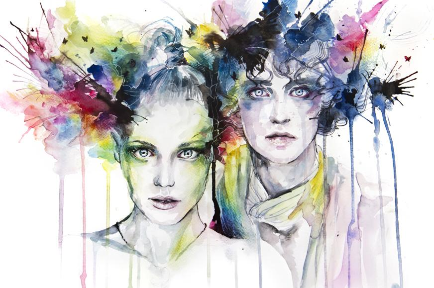 skies on fire by =agnes-cecile