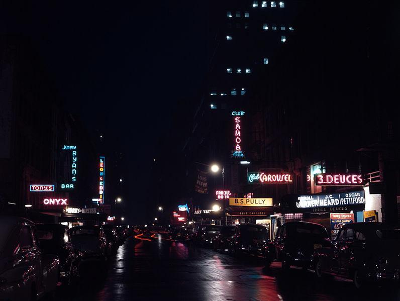 File:52nd Street, New York, by Gottlieb, 1948.jpg - Wikipedia, the free encyclopedia