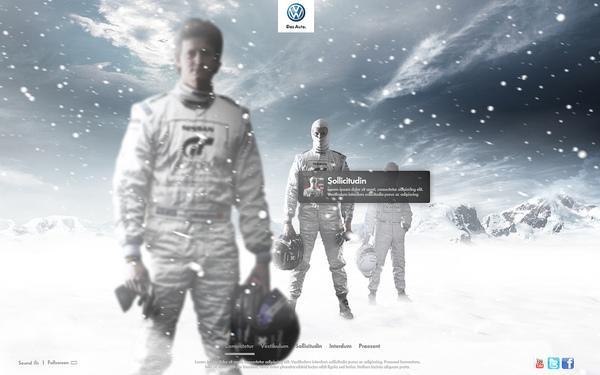 + Volkswagen + sur la conception Web Servi