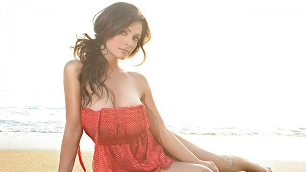women,brunettes brunettes women beach denise milani celebrity brown eyes red dress 1920x1080 wallpaper – Beaches Wallpapers – Free Desktop Wallpapers