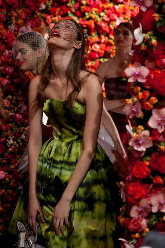 Color Art Show Fall-Winter 2012 for Christian Dior