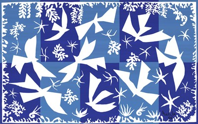 The Sky Art Print by Henri Matisse, Extra Large (paper size 48