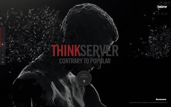 + + Thinkserver sur le réseau