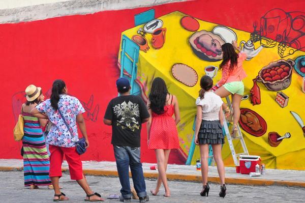 Juxtapoz Magazine - Gallery - Category: Saner Monterrey - Image: Saner Monterrey_23