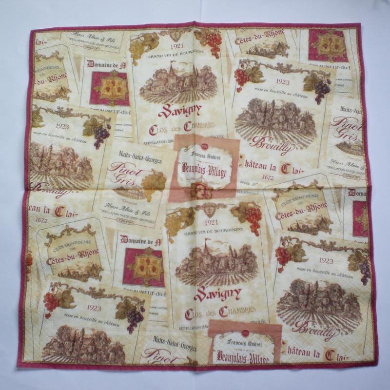 Paper napkins (serviette) for decoupage technique | Decoromana MISI Handmade Shop