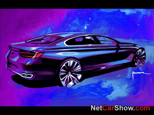 BMW 6-Series Gran Coupe wallpaper # 255 of 255, Design Sketches, MY 2013, 800x600