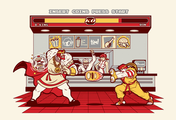 Super Meat Fighter | Wall of Fame | Daily Inspiration