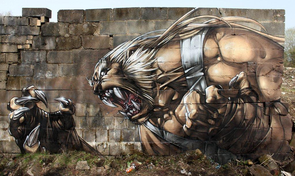 Awesome Street Art Characters by SmugOne | Daily Inspiration