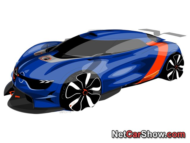 Renault Alpine A 110-50 Concept wallpaper # 69 of 80, Design Sketches, MY 2012, 800x600