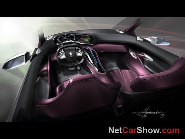 Peugeot HR1 Concept wallpaper # 42 of 45, Design Sketches, MY 2010, 800x600