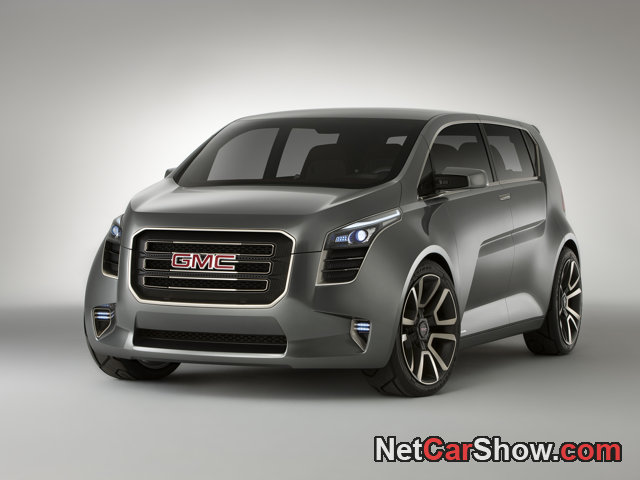GMC Granite Concept wallpaper # 01 of 10, Front Angle, MY 2010, 800x600