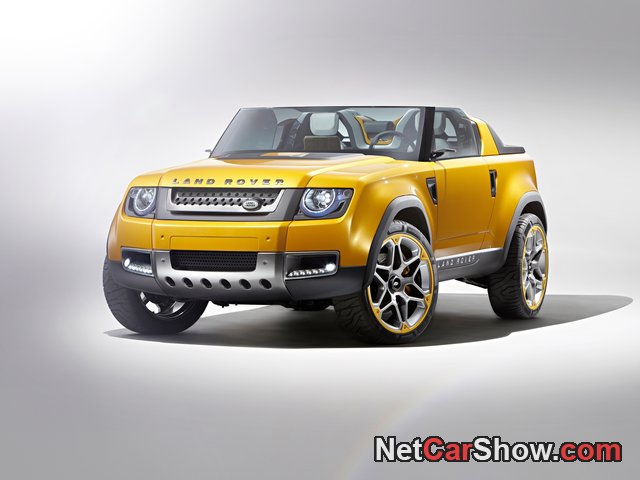 Land Rover DC100 Sport Concept wallpaper # 16 of 41, Front Angle, MY 2011, 800x600