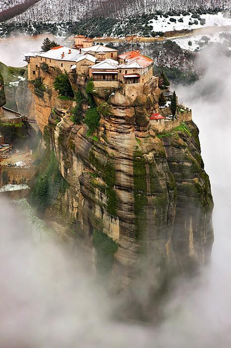 Arm Chair Traveler: Meteora, Thessaly, Greece