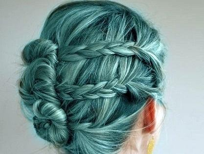 mixed color hairstyle - StyleCraze