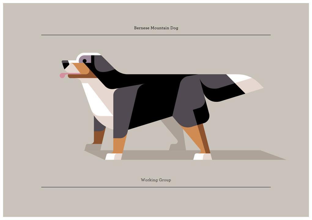Lumadessa Minimal Canine Prints lumadessa-minimalist-dog-prints-posters-gessato-gblog-2 – GBlog
