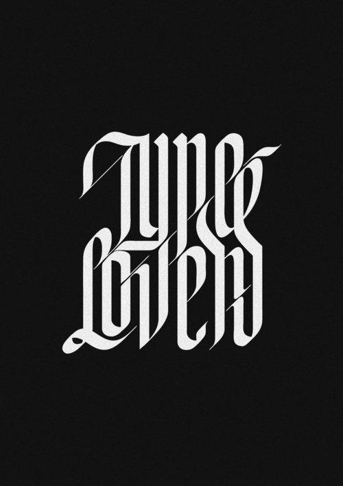 Type de Typeverything.com Lovers projet par Jackson ... - Typeverything
