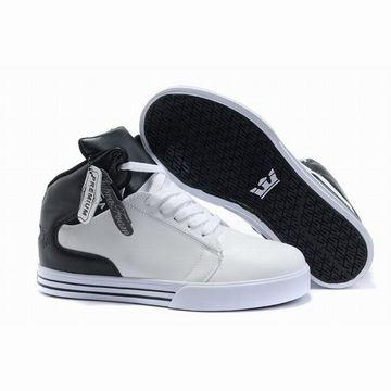 white black supra tk society mid top leather men shoes,supra society mid leather sneakers