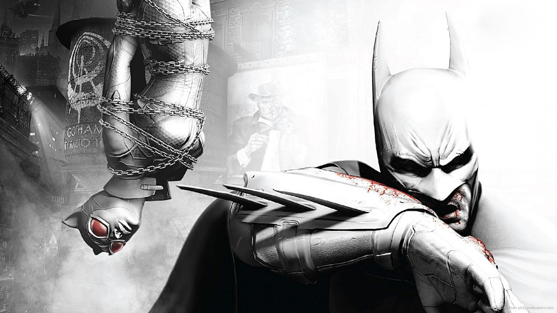 Télécharger 1920x1080 Batman Arkham City Art Concept Wallpaper
