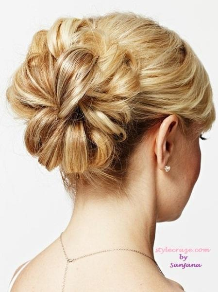 Glam up your summer bun - StyleCraze