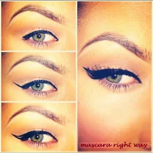 mascara right way - StyleCraze
