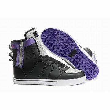 2011 new supra muska skytop tuf black white purple shoes online shop