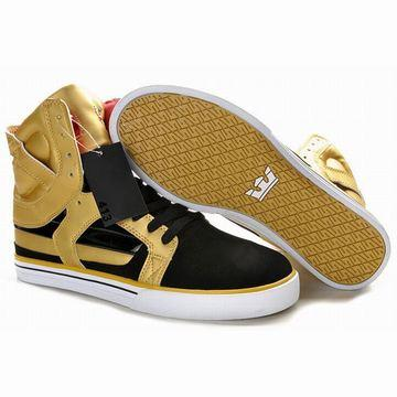 gold black supra skytop ii high top online store