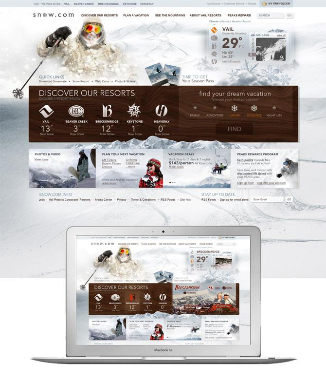 Snow.com - Tofslie Inc. | The Creative Studio of Edwin Tofslie - Creative Direction, Art Direction, Ideas, Design, Interactive, Web and Maker of Fine Jerky.