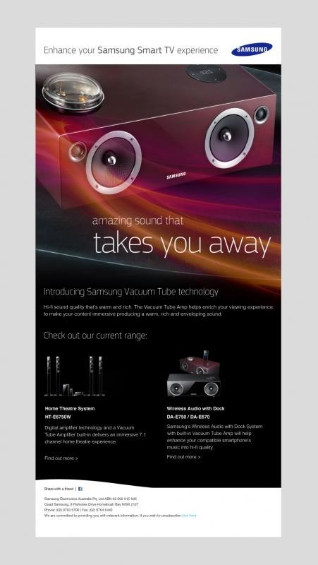 Samsung Trigger eDM Designs