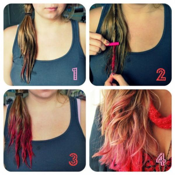 colour your hair at home - StyleCraze