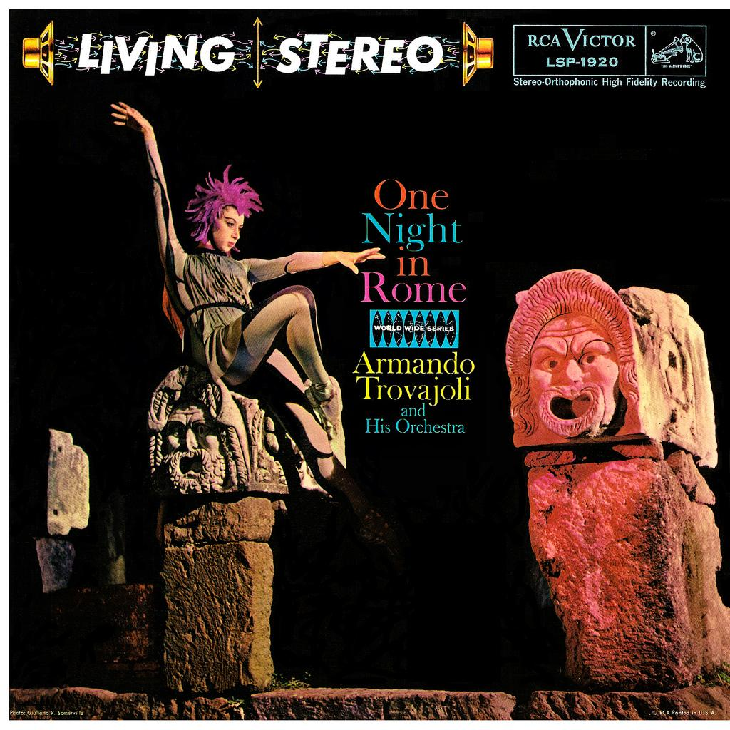 LP Cover Art « One Night in Rome
